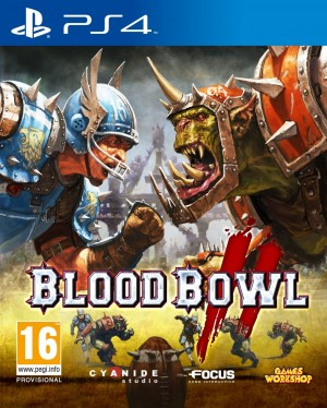 Copertina Blood Bowl 2 - PS4