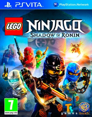 Copertina LEGO Ninjago: l'Ombra di Ronin - PS Vita