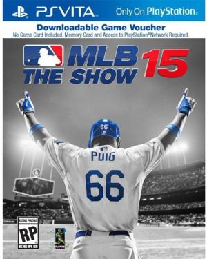 Copertina MLB 15 The Show - PS Vita