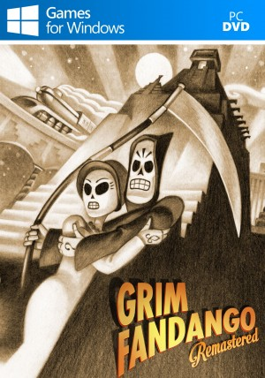 Copertina Grim Fandango Remastered - PC
