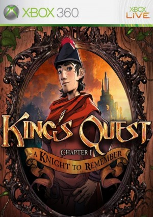 Copertina King's Quest: A Knight to Remember - Xbox 360