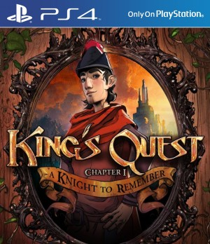 Copertina King's Quest: A Knight to Remember - PS4