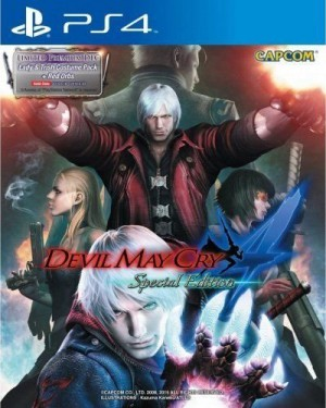 Copertina Devil May Cry 4: Special Edition - PS4