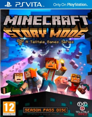 Copertina Minecraft Story Mode - Episode 1: The Order of Stone - PS Vita