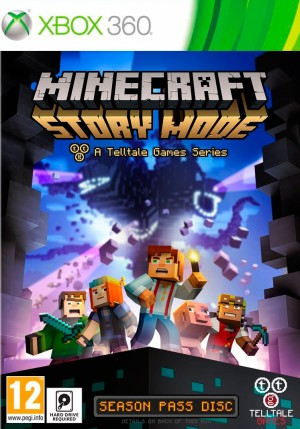 Copertina Minecraft Story Mode - Episode 1: The Order of Stone - Xbox 360