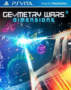 Copertina Geometry Wars 3: Dimensions - PS Vita