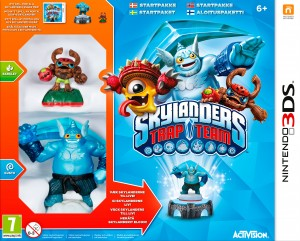 Copertina Skylanders Trap Team - 3DS