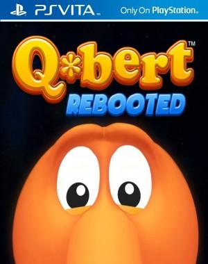 Copertina Q*Bert Rebooted - PS Vita