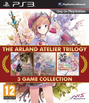 Copertina The Arland Atelier Trilogy - PS3