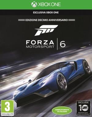 Copertina Forza Motorsport 6 - Xbox One