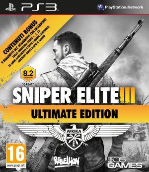 Copertina Sniper Elite 3 Ultimate Edition - PS3