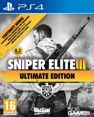 Copertina Sniper Elite 3 Ultimate Edition - PS4