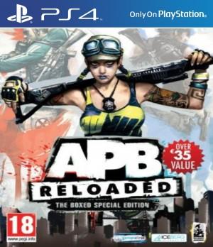 Copertina APB Reloaded - PS4