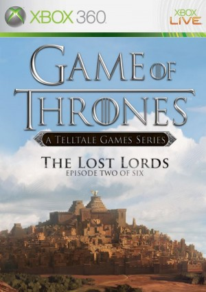 Copertina Game of Thrones Episode 2: The Lost Lords - Xbox 360