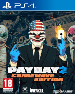 Copertina Payday 2: Crimewave Edition - PS4