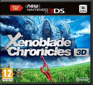 Copertina Xenoblade Chronicles 3D - 3DS