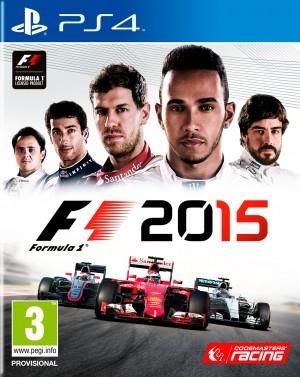 Copertina F1 2015 - PS4