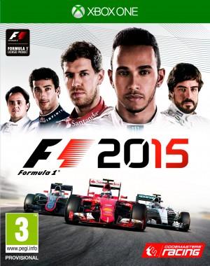 Copertina F1 2015 - Xbox One