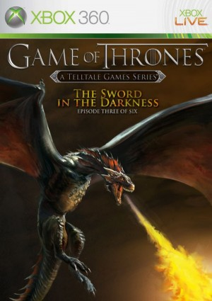 Copertina Game of Thrones Episode 3: The Sword in the Darkness - Xbox 360