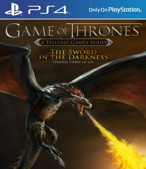 Copertina Game of Thrones Episode 3: The Sword in the Darkness - PS4