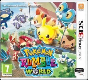 Copertina Pokémon Rumble World - 3DS