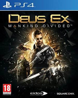 Copertina Deus Ex: Mankind Divided - PS4