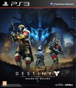 Copertina Destiny - Il Casato dei Lupi - PS3