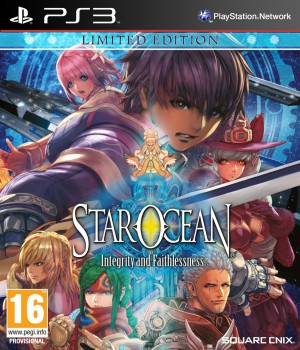 Copertina Star Ocean: Integrity and Faithlessness - PS3