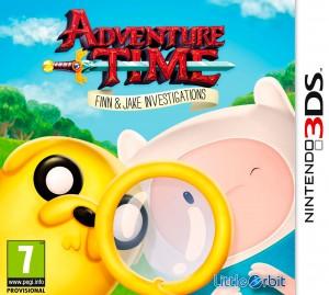 Copertina Adventure Time: Finn e Jake Detective - 3DS