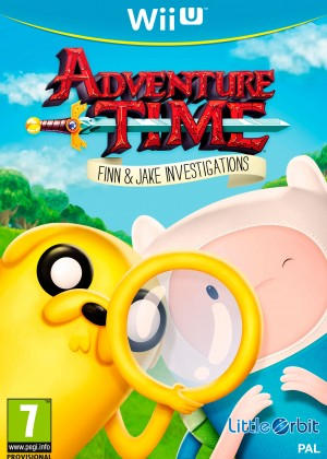Copertina Adventure Time: Finn e Jake Detective - Wii U