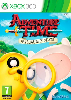 Copertina Adventure Time: Finn e Jake Detective - Xbox 360