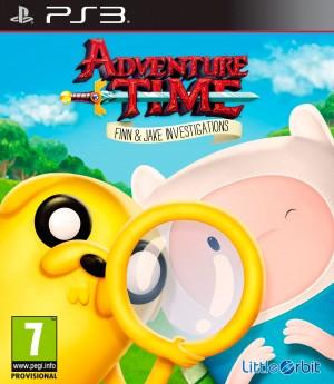 Copertina Adventure Time: Finn e Jake Detective - PS3