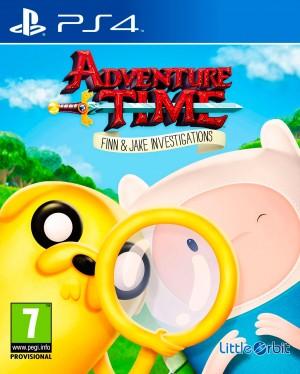 Copertina Adventure Time: Finn e Jake Detective - PS4