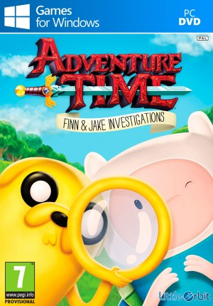 Copertina Adventure Time: Finn e Jake Detective - PC
