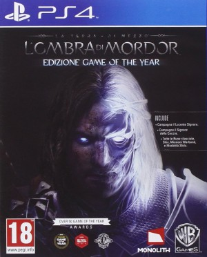 Copertina La Terra di Mezzo: L'Ombra di Mordor - GOTY Edition - PS4