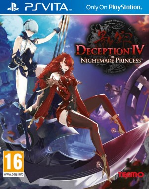 Copertina Deception IV: The Nightmare Princess - PS Vita
