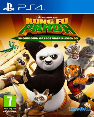 Copertina Kung Fu Panda: Scontro Finale delle Leggende Leggendarie - PS4