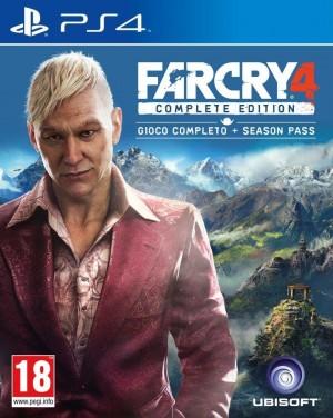 Copertina Far Cry 4 Complete Edition - PS4