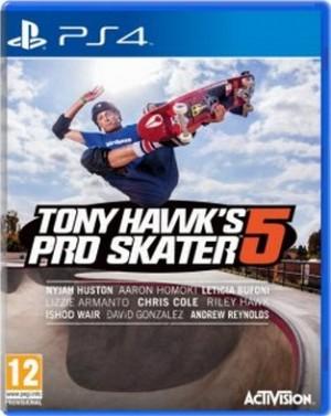 Copertina Tony Hawk's Pro Skater 5 - PS4