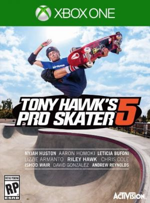Copertina Tony Hawk's Pro Skater 5 - Xbox One
