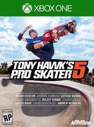 Copertina Tony Hawk's Pro Skater 5 - Xbox One