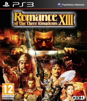Copertina Romance of the Three Kingdoms XIII - PS3