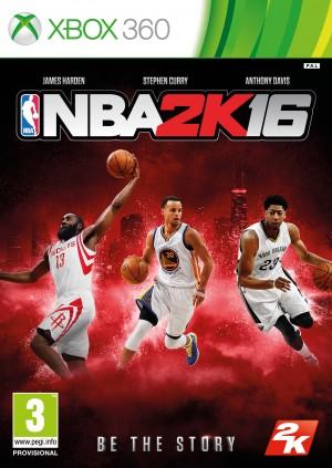 Copertina NBA 2K16 - Xbox 360
