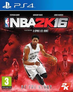 Copertina NBA 2K16 - PS4