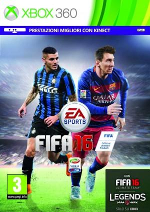Copertina FIFA 16 - Xbox 360