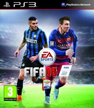 Copertina FIFA 16 - PS3