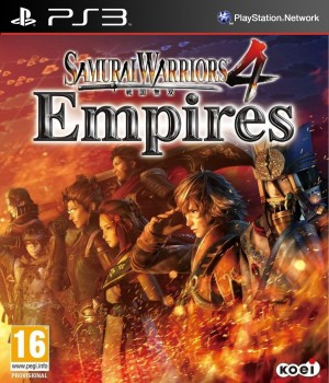 Copertina Samurai Warriors 4: Empires - PS3