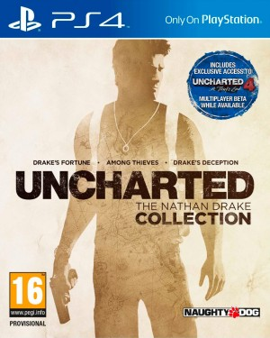 Copertina Uncharted: The Nathan Drake Collection - PS4