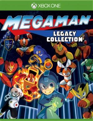 Copertina Mega Man Legacy Collection - Xbox One