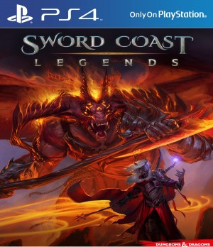 Copertina Sword Coast Legends - PS4
